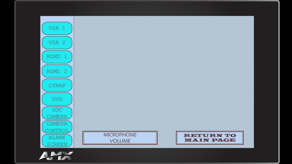 AMX Style 12 Sub Screen 1