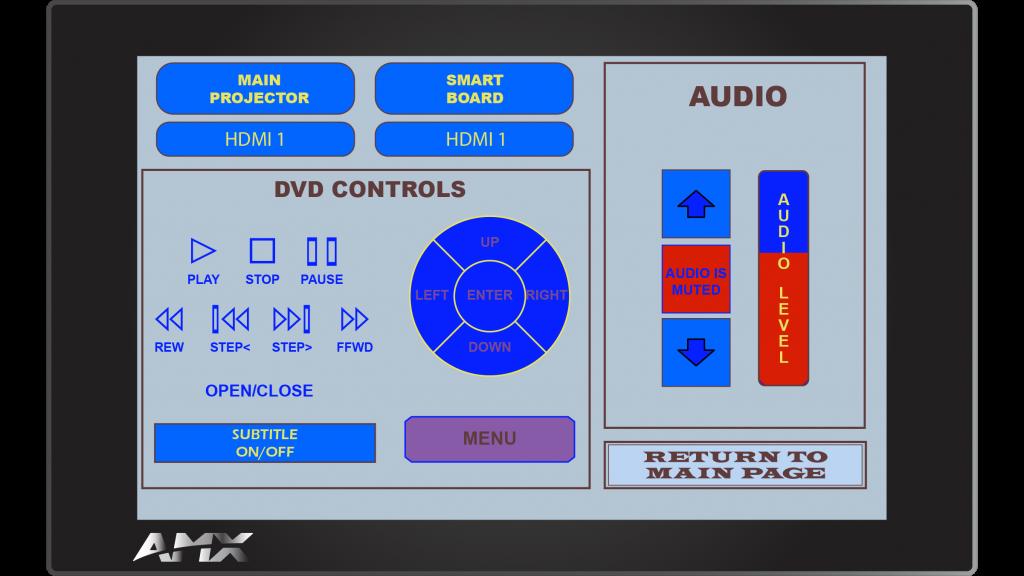 AMX Style 40 Sub Screen 1
