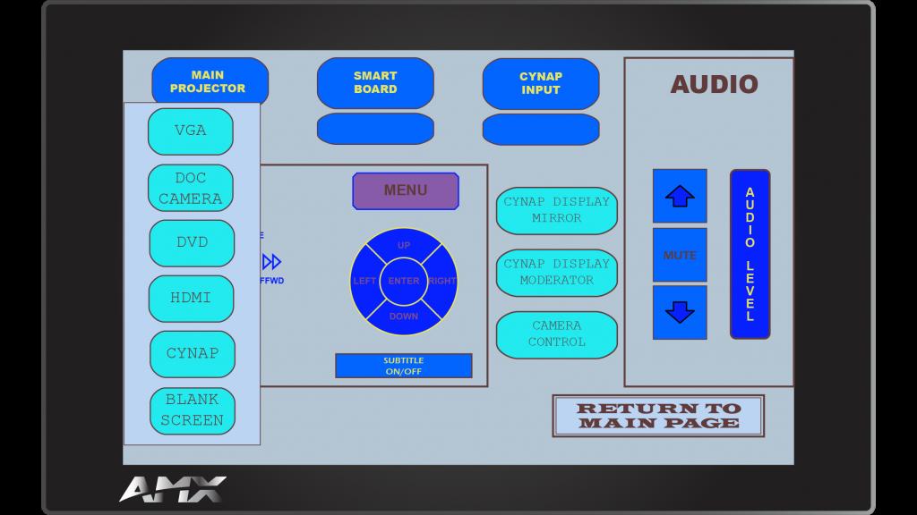 AMX Style 49 Sub Screen 2