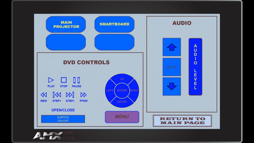 AMX Style 6 Sub Screen 1